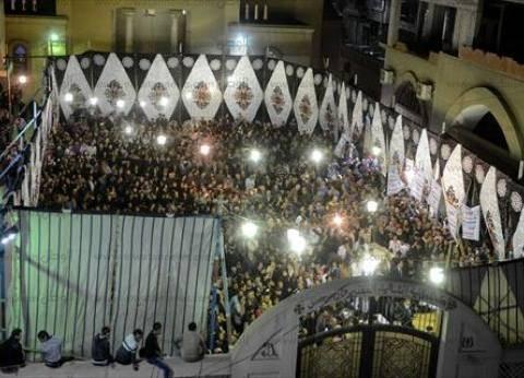 بث مباشر| الصلاة على شهداء الكنيسة المرقسية بالإسكندرية في دير مارمينا