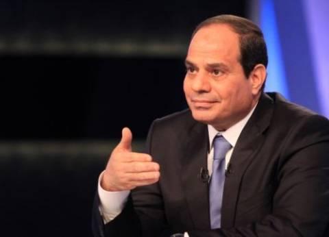 السيسي: الإرهاب يحول دون تطوير سيناء بالشكل المناسب