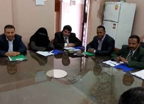 رئيس جامعة بنها يلتقي مجلس إدارة نادي أعضاء هيئة التدريس الجديد