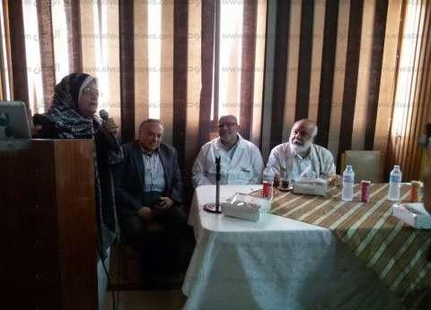"""""""رمضان بدون تدخين"""".. يوم توعوي لقسم الأمراض الصدرية في المنصورة"""