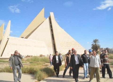 10 ملايين يورو للمتحف الأتوني ومحافظ المنيا يتابع استكماله بعد 16 عاما