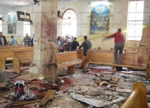 مجلس عمد ومشايخ مطروح يدين الأعمال الإرهابية بطنطا والإسكندرية