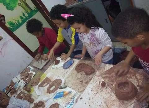 """""""ورش فنية"""" متنوعة بقصور الثقافة في الإسكندرية"""