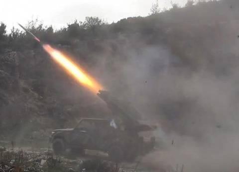 قوات التحالف العربي تقصف مبنى الأمن القومي في صنعاء