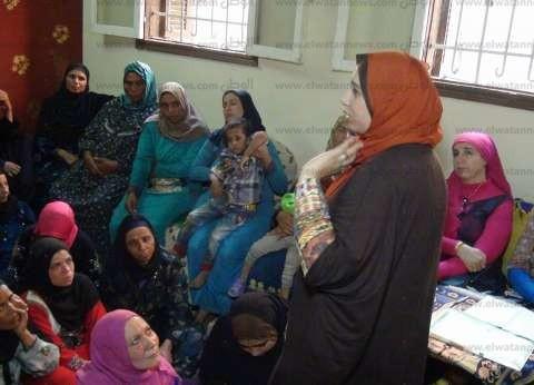 """دورات تدريبية على شغل """"الهاند ميد"""" بـ""""قومي المرأة"""" في بني سويف"""