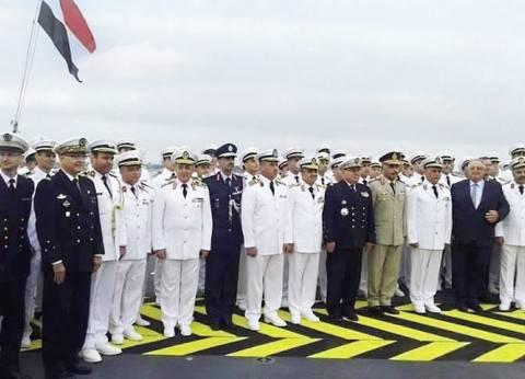 """""""دعم تحيا مصر"""" تهنئ البحرية المصرية بوصول """"الميسترال"""""""