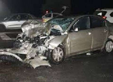 إصابة 4 شرطيين بينهم ضابط في حادث مروري ببني سويف