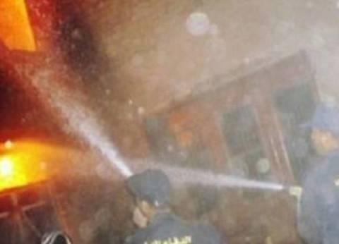 """""""الحماية المدنية"""" تسيطر على حريق شب بمنزل ومقهى في سوهاج"""