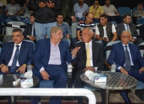 محافظ الإسماعيلية: سعيد بفوز الإسماعيلي على الكويتي وهتافات الجمهور