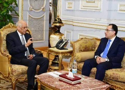 """عبد العال منتقدا ترك نواب مقاعدهم بعد مغادرة رئيس الوزراء: """"كده أزعل"""""""
