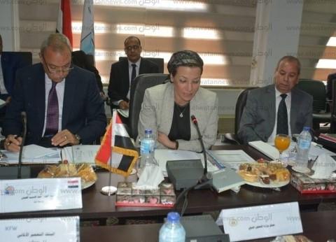 """محافظ كفر الشيخ يشارك في اجتماع """"البيئة"""" لتسيير  برنامج إدارة المخلفات"""