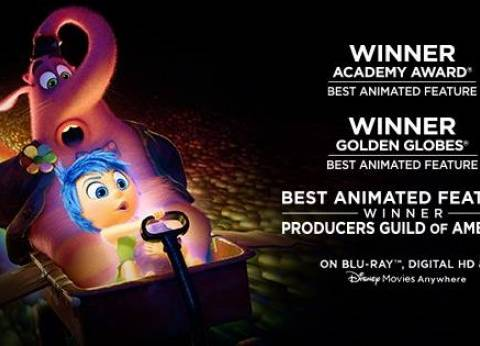 """Disney Pixar"" تحتفل بـ ""Joy"" دائما وتتجنب الحزن في ""Inside Out"""