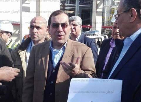 """وزير البترول: يوجّه بتحميل منصة """"أبو قير"""" لاستيعاب إنتاج 9 آبار جديدة"""