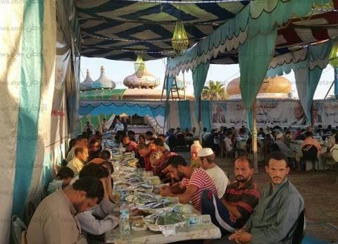 بالصور| محافظة مطروح تستعد لتنفيذ أكبر حفل إفطار جماعي