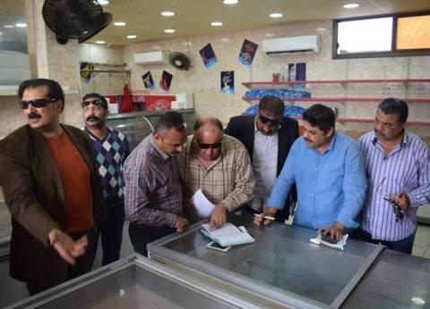 محافظ بورسعيد يغلق منفذ لبيع لحوم غير صالحة للاستخدام الآدمي