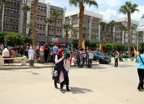 انتظام الدراسة بجامعة طنطا مع أول أيام العام الجامعي