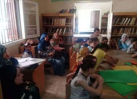 """الثقافة تنظم ورش فنية للموهوبين في """"التربية والتعليم"""" بالمنيا"""