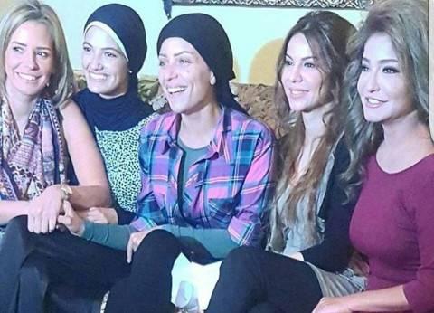 """ريم البارودي تنفي وجود أزمة علي أفيش """"السبع بنات"""""""