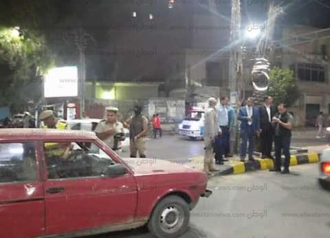 مديرا أمن مطروح وبني سويف يتفقدان الخدمات الأمنية ونقاط التفتيش