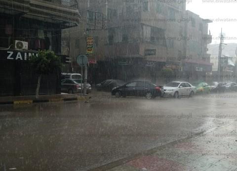 """""""الأرصاد"""" تحذر المواطنين من طقس اليوم والغد.. """"رعد وبرق وسقوط أمطار"""""""