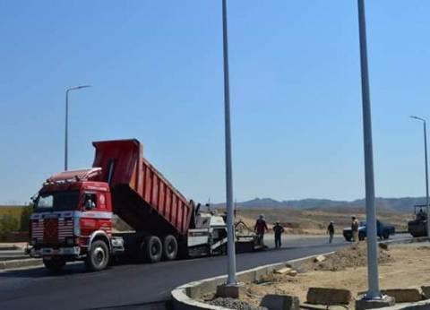 رئيس مدينة القصير بالبحر الأحمر يتابع أعمال تطوير البنية التحتية