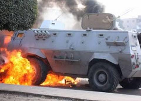 """إغلاق طريق """"العريش - القنطرة"""" لملاحقة منفذي الهجوم الإرهابي"""