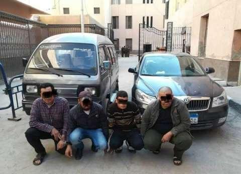 ضبط 3 تشكيلات عصابية ضمت 8 متهمين ارتكبوا 11 جريمة سرقة