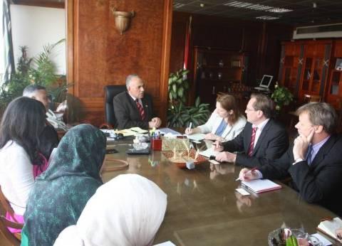 وزير الري يلتقي وفد البنك الدولي لاستعراض أوجه التعاون