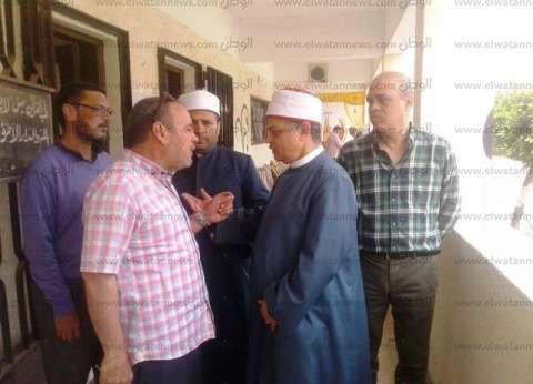 """رئيس """"الإسكندرية الأزهرية"""" يتفقد لجان امتحانات النقل والثانوي"""
