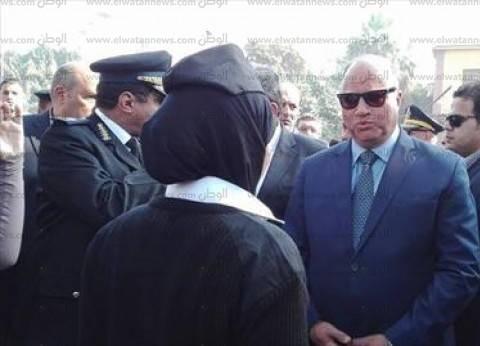 """قبل الحكم على """"مرسي"""".. مدير أمن القاهرة يصل مقر أكاديمية الشرطة"""