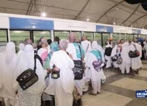 قطار المشاعر يقل 75162 حاجا إلى مشعر عرفات حتى منتصف الليل