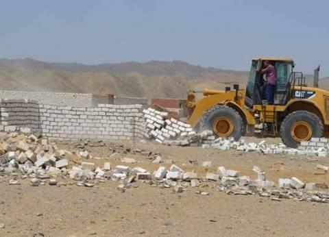 تنفيذ 21 قرار إزالة لتعديات على الأراضي الزراعية في سوهاج