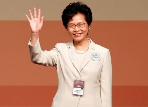 اختيار المرشحة المفضلة لبكين لرئاسة السلطة التنفيذية في هونج كونج