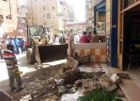 إزالة 43 مخالفة بينهم 6 منازل في حملة أمنية مكبرة بمطروح