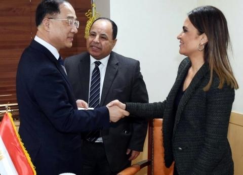 وزيرة الاستثمار تعقد جلسة مع رئيس الوزراء الكوري في حضور «معيط»
