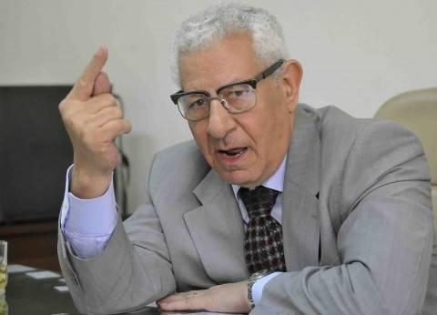 مكرم محمد أحمد: نجني ثمار خارطة الطريق والإصلاح