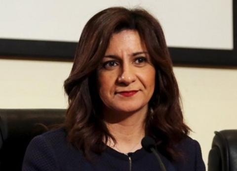 نبيلة مكرم: سيدات مصرمن أوائل المشاركات في الاستفتاء بالخارج