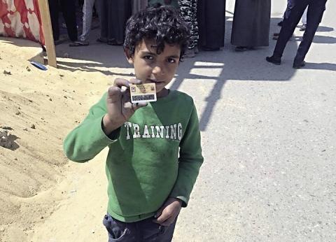 «محمد» على باب اللجنة: «يا بلادى.. أنا امتى هكبر»