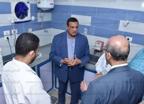 محافظ البحيرة يتفقد أعمال التطوير الجزئي بمستشفى الرحمانية المركزي