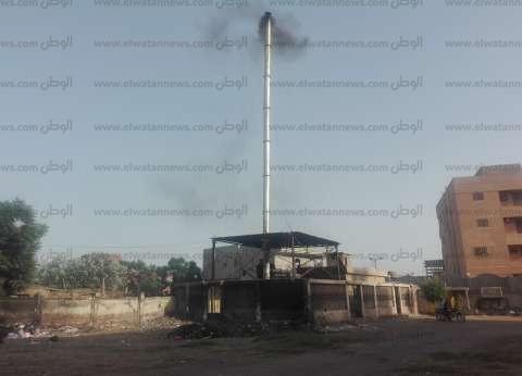 «السنطة».. مدخنة محرقة النفايات تلوث الهواء.. والمدير: لست مسئولاً عنها