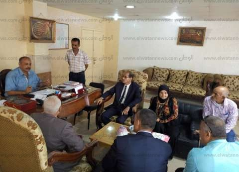 اجتماع في مجلس مدينة العريش لبحث تذليل صعوبات العملية التعليمية