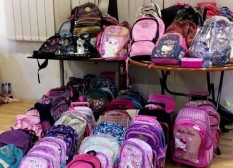 """معرض """"مروة"""".. مستلزمات المدارس لمساعدة طلاب الأسر الفقيرة"""