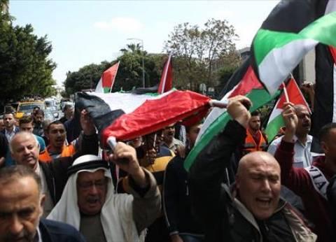 عاجل| مواجهات بين قوات الاحتلال الإسرائيلي ومحتجين فلسطينيين