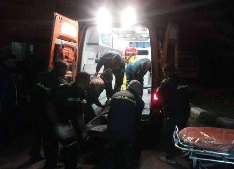 """إصابة 8 أشخاص في حادث انقلاب سيارة بطريق """"بني عدي منفلوط"""" بأسيوط"""