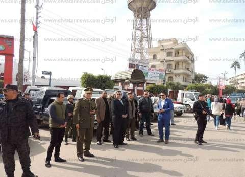بالصور| مدير أمن كفر الشيخ يتفقد الخدمات الأمنية ويهنئ القوات بعيد الشرطة