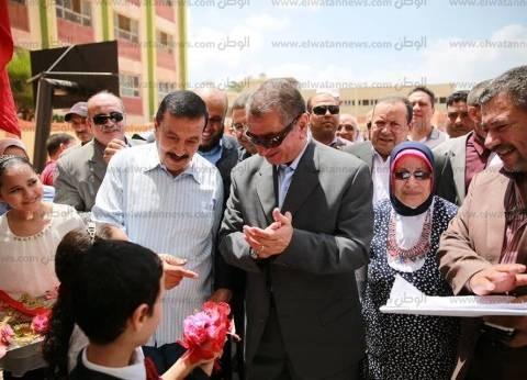 محافظ كفر الشيخ يفتتح مدرستين بسيدي سالم بتكلفة 17.8 مليون جنيه