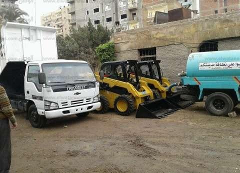 """""""البيئة"""": تسليم معدات نظافة بـ1.4 مليون جنيه لمحافظة الغربية"""