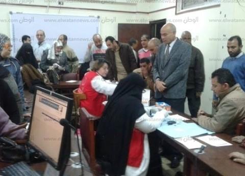 """فحص 3 ملايين و123 ألف مواطن بحملة """"100 مليون صحة"""" في الشرقية"""