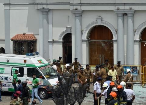 عاجل| انفجار قرب كنيسة في سريلانكا