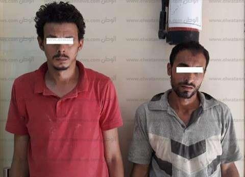 القبض على عامل وسباك في العاصمة الإدارية وبحوزتهما كمية من النحاس